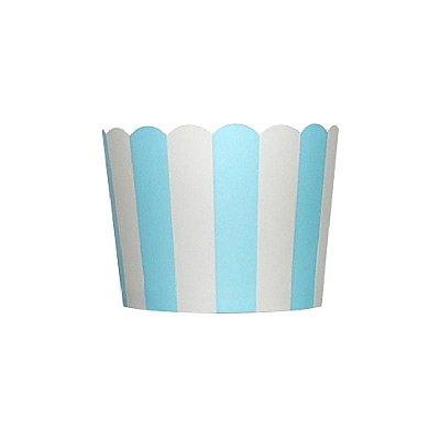 Formas de papel forneáveis para Cupcake - Azul (20 unidades)