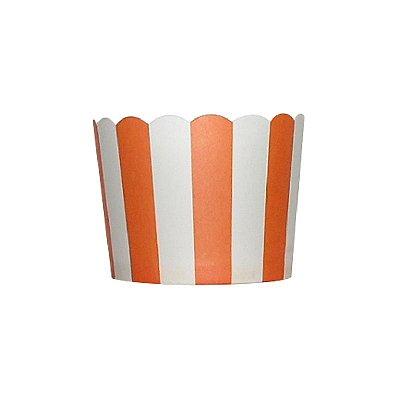 Formas de papel forneáveis para Cupcake - Laranja (20 unidades)