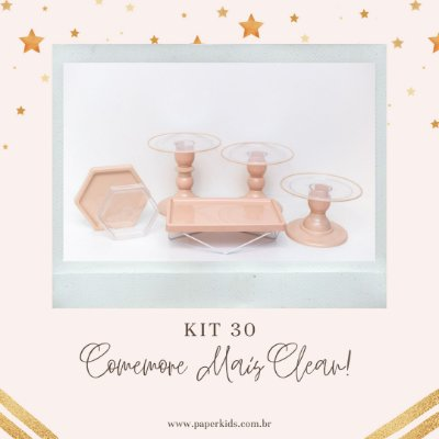 KIT COMEMORE MAIS CLEAN 30 - Nude / Blush
