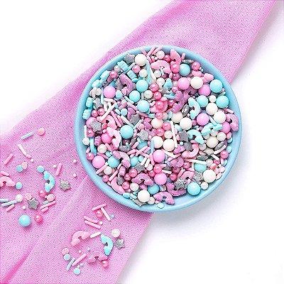 Confeito para Bolo - Candy Clouds Sprinkles  (90 gramas)