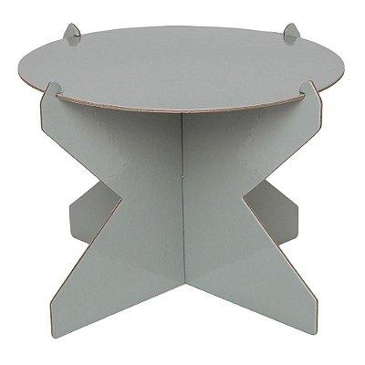 Boleira 26cm - Cinza Concreto (papelão desmontável)