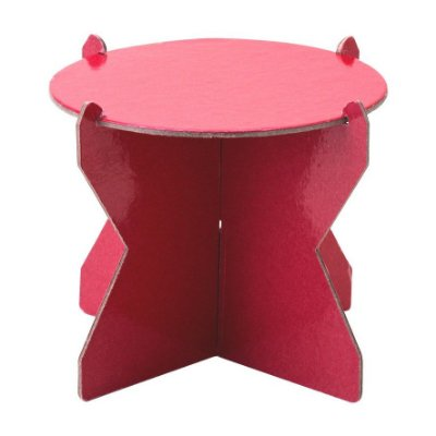 Mini Boleira 12 cm - Vermelho (papelão desmontável)