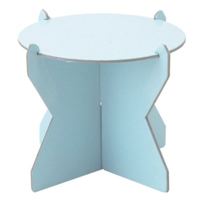 Mini Boleira 12 cm - Azul Candy (papelão desmontável)