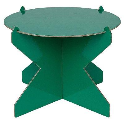 Boleira 26cm - Verde (papelão desmontável)