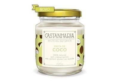 Pasta de Coco 210g - Castanharia