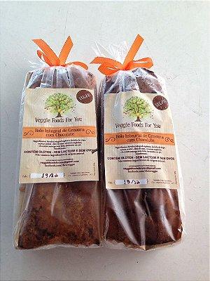 Bolo Integral de Cenoura com Chocolate (1 unidade)