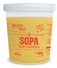 Sopa de mandioquinha - Pure Food