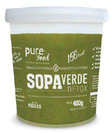 Sopa Verde Detox - Pure Food