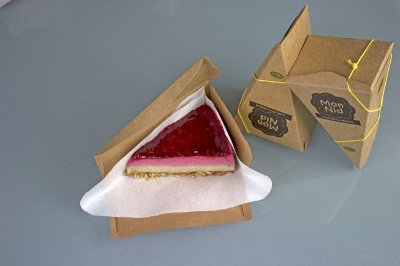 Torta Framboesa e Menta 120g - MonNid