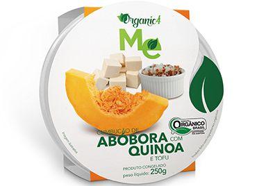 Cumbucão de abóbora com quinoa e tofu 250g - Organic 4