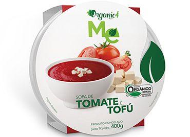 Sopa de tomate e tofu 400g - Organic 4