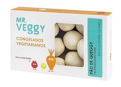 Pão de Queggy Vegano 320g (16 unidades)