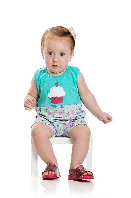 Macaquinho Bebê Cupcake