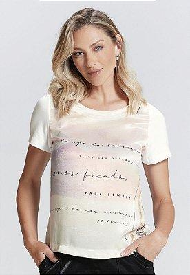 T-Shirt em Viscolycra