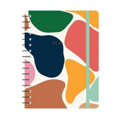 Agenda Planner Wire-o Manchas Off White A5