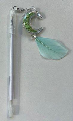 Caneta Amuleto Filtro dos Sonhos Verde