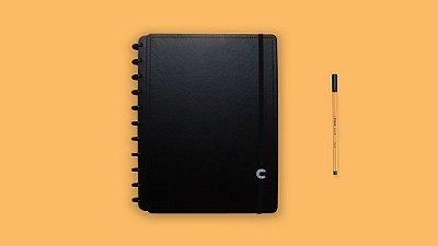 Caderno Inteligente Basic Black A5