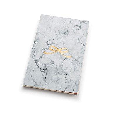 Caderno Marmore Pautado Flex 12 x 20