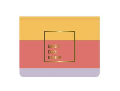 Blocos Sticky Notes Allegro Best Day Ever com 5
