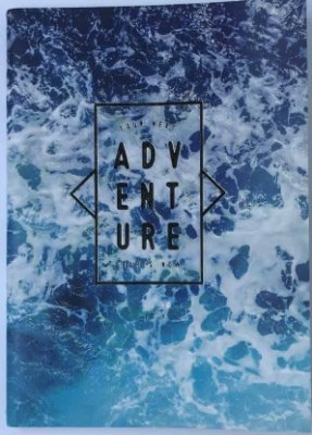 Caderno Pocket A6 Water Adventure