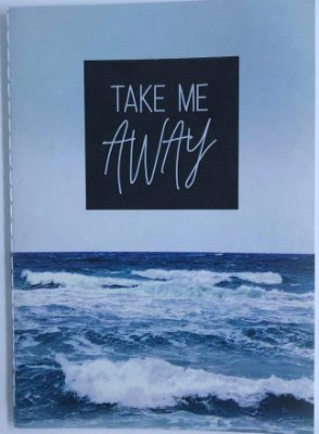 Caderno Pocket A6 Water Take Me Away