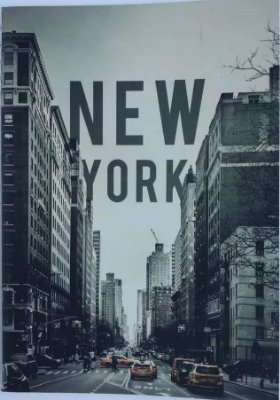 Caderno Pocket A6 New York