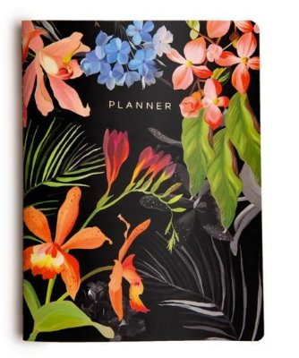 Planner Revista Floresta Tropical noite
