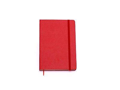 Caderneta Clássica Pautada 9x13 Vermelha