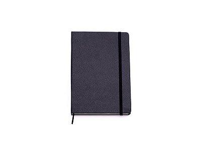 Caderneta Clássica Pautada 14 x 21 Preta