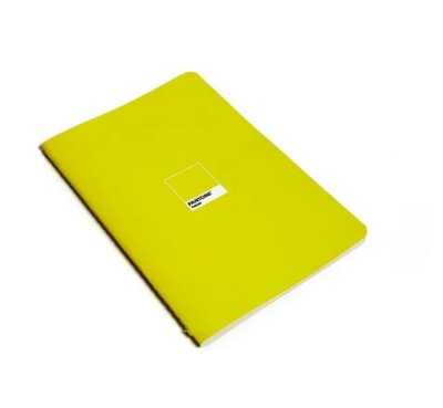 Caderno Revista Flex Pantone Yellow