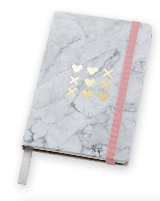 Caderneta Pink Stone Pocket Pautada