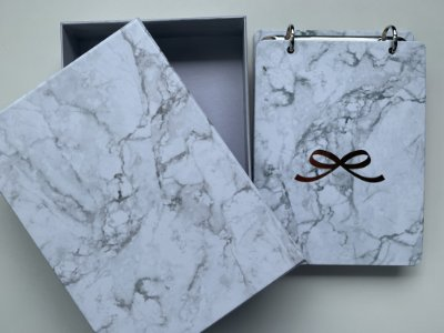 Bloco Ideias Notepad Pink Stone