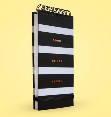 Bloco Planner Diario Good Things Happen
