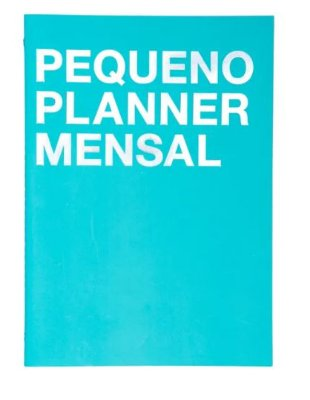Planner Na Medida Azul Pequeno A5