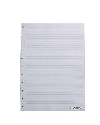 Refil Pautado A5 90 g Caderno Inteligente