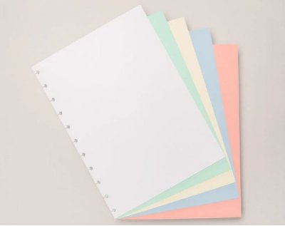 Refil Colorido Grande Caderno Inteligente