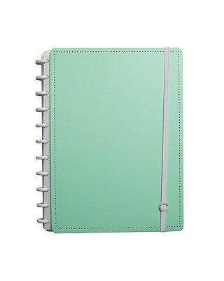 Caderno Inteligente Verde Menta Pastel Grande