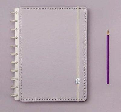Caderno Inteligente Lilas Pastel Grande