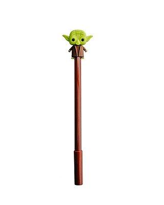 Caneta Baby Yoda Star Wars marrom
