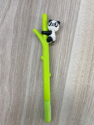 Caneta Panda Bambu Amarelo
