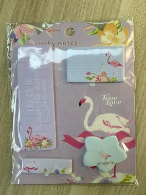 Sticky Notes Flamingo rosa