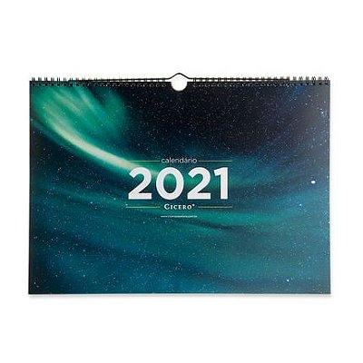 Calendário de Parede 2021 - Astral - 42 x29,7 - mensal