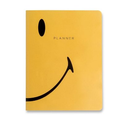 Agenda Planner Mensal Revista Smiley