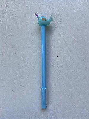 Caneta Baleia Azul