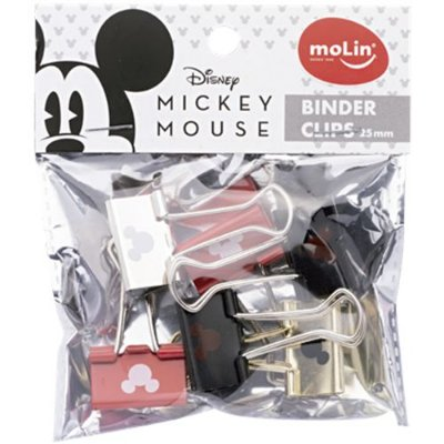Binder Clip Mickey 25mm