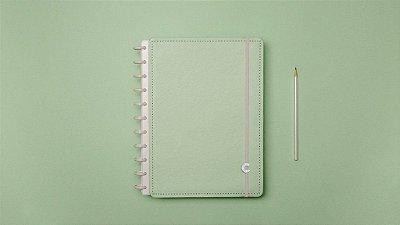 Caderno Inteligente Verde Pastel - MEDIO
