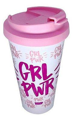 Copo Viagem Girl Power GPW Rosa