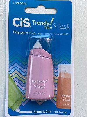 Fita Corretiva Trendy Pastel Cor Rosa