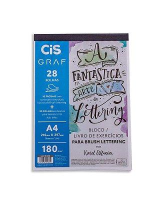 Bloco A Fantastica Arte do Lettering A4