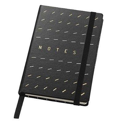 Caderneta Noir Pautada Notes